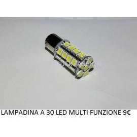 LAMPADINE A 30 LED MULTI FUNZIONE