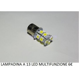 LAMPADINE A 13 LED MULTI FUNZIONE