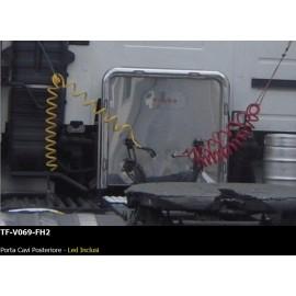 PORTA CAVI POSTERIORE -  LED INCLUSI