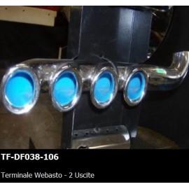 TERMINALE WEBASTO - 2 USCITE