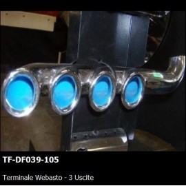 TERMINALE WEBASTO - 3 USCITE