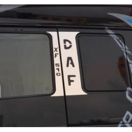 KIT PIANTONI PORTA INOX IN 4 PEZZI DAF XF 105