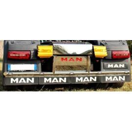 PROFILO INOX POSTERIORE CON LAMIERE MAN TGX E6