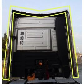 KIT PLACCHE INOX SPOILER COMPLETO MERCEDES MP2