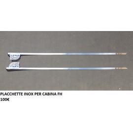 PLACCHETTA  INOX PER CABINA  FH 13